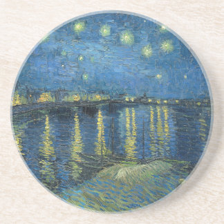 Van Gogh: Starry Night Over the Rhone Coasters