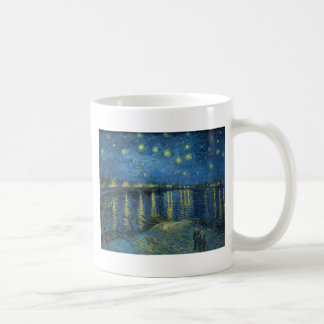 Van Gogh: Starry Night Over the Rhone Coffee Mug