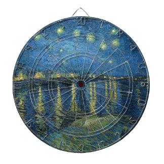 Van Gogh: Starry Night Over the Rhone Dartboard