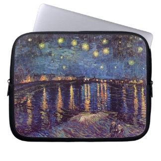 Van Gogh Starry Night Over the Rhone, Fine Art Computer Sleeves
