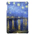Van Gogh Starry Night Over The Rhone iPad Mini Case