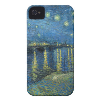 Van Gogh: Starry Night Over the Rhone iPhone 4 Case