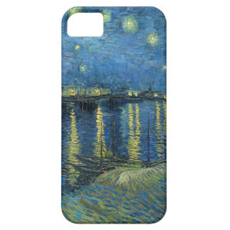 Van Gogh: Starry Night Over the Rhone iPhone 5 Covers