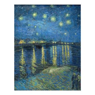 Van Gogh: Starry Night Over the Rhone Letterhead
