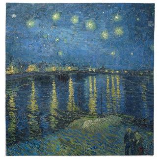 Van Gogh: Starry Night Over the Rhone Napkin