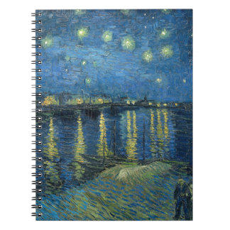 Van Gogh: Starry Night Over the Rhone Notebook