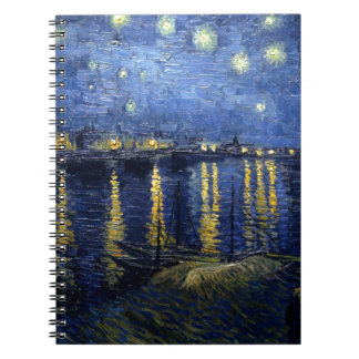 Van Gogh: Starry Night Over the Rhone Notebook