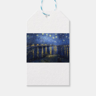 Van Gogh: Starry Night Over the Rhone Pack Of Gift Tags