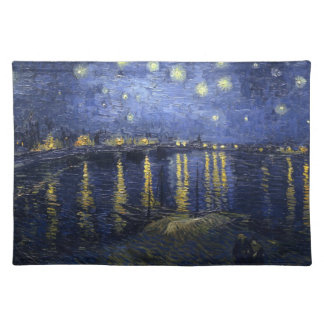 Van Gogh Starry Night Over The Rhone Place Mat