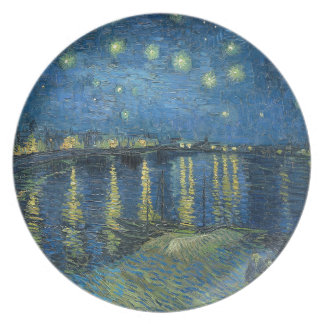 Van Gogh: Starry Night Over the Rhone Plate