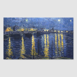 Van Gogh: Starry Night Over the Rhone Sticker