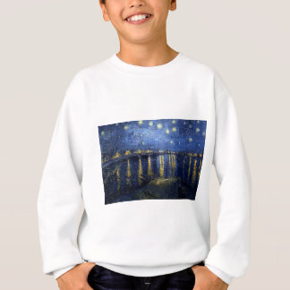 Van Gogh: Starry Night Over the Rhone Sweatshirt