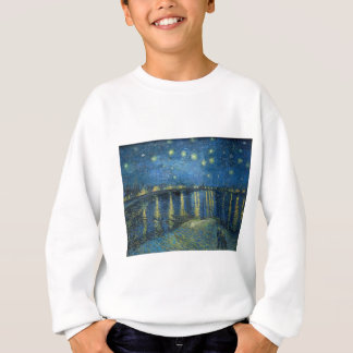 Van Gogh: Starry Night Over the Rhone Sweatshirt