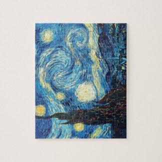 Van Gogh Starry Night Painting Puzzle