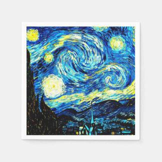 Van Gogh - Starry Night Paper Napkins