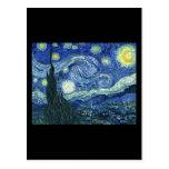 Van Gogh Starry Night Post Cards