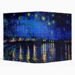 Van Gogh Starry Night Rhone (F474) Fine Art
