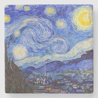 "Van Gogh, ""Starry Night"" Stone Coaster"