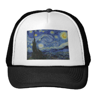 Van Gogh - Starry Night Trucker Hat