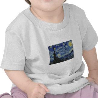 Van Gogh Starry Night Tshirts