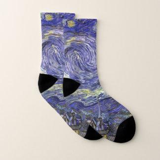 Van Gogh Starry Night, Vintage Fine Art Landscape 1