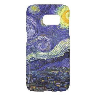 Van Gogh Starry Night, Vintage Fine Art Landscape Samsung Galaxy S7 Case