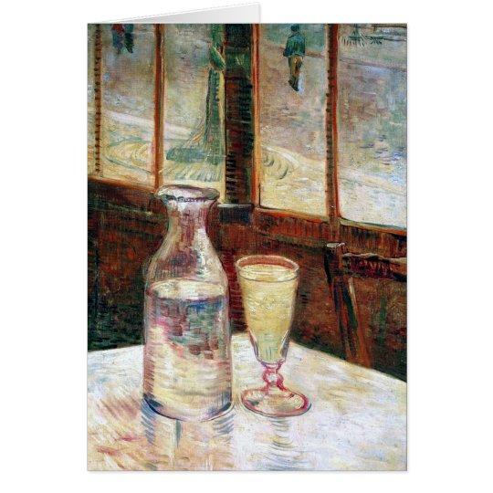 Van Gogh Still Life Absinthe Fine Art Card