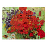 Van Gogh Still Life Flower Red Poppies and Daisies