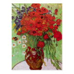 Van Gogh; Still Life: Red Poppies and Daisies Post Card