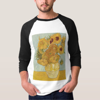 Van Gogh - Still Life: Vase with 12 Sunflowers T-Shirt
