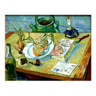 Van Gogh - Still Life with a Plate of Onions Postcard