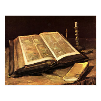 Van Gogh Still Life with Bible F117 Postcards