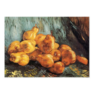 Van Gogh Still Life with Quince Pears, Vintage Art Card