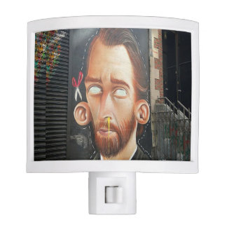 Van Gogh Streetart Night Light