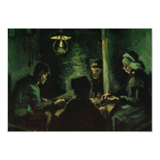 Van Gogh; Study for The Potato Eaters, Vintage Art Card