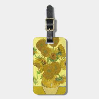 Van Gogh   Sunflowers   1888 Luggage Tag