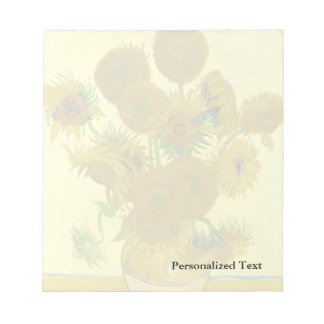 Van Gogh | Sunflowers | 1888 Notepad