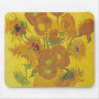 Van Gogh Sunflowers 2 Mouse Pad