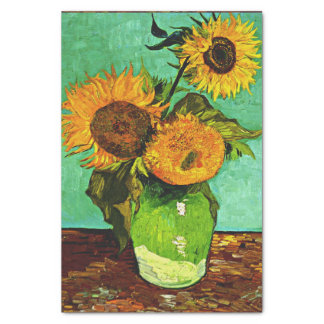 Van Gogh - Sunflowers (3) Tissue Paper