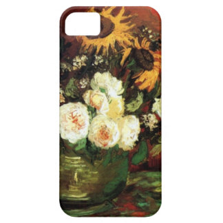 Van Gogh Sunflowers and Roses iPhone 5 Case
