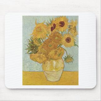 Van Gogh - Sunflowers Mouse Pad