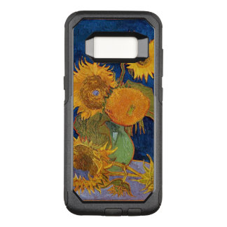 Van gogh sunflowers OtterBox commuter samsung galaxy s8 case