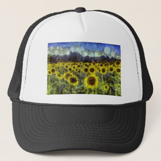Van Gogh Sunflowers Trucker Hat