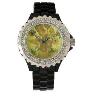 Van Gogh Sunflowers Watch