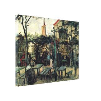 Van Gogh Terrace of a Cafe on Montmartre, Fine Art Canvas Prints