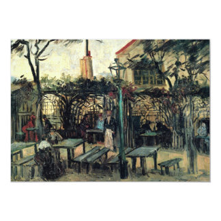 Van Gogh Terrace of a Cafe on Montmartre, Fine Art Card