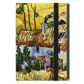 Van Gogh: Thatched Houses against a Hill iPad Mini Case