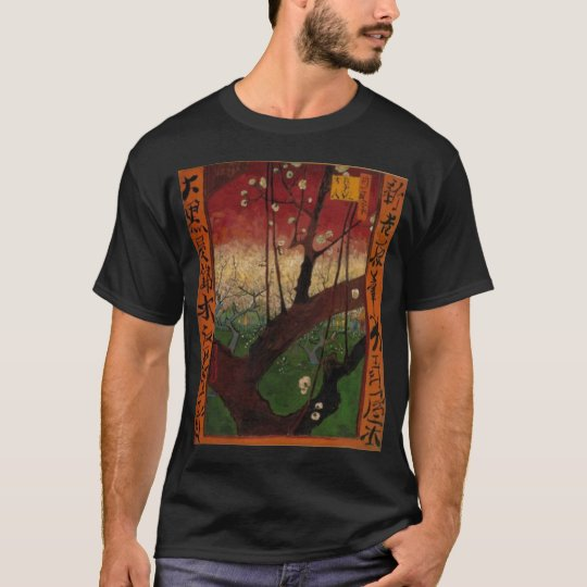 van gogh the blooming plumtree after hiroshige  18 T-Shirt