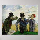 Van Gogh The Drinkers Fine Art Print