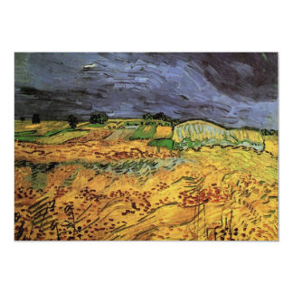 Van Gogh The Fields, Vintage Landscape Fine Art Card